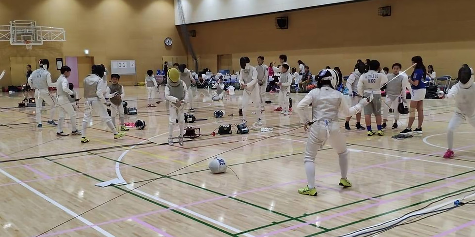 Tokyo Olympian Fencing Camp and Competition