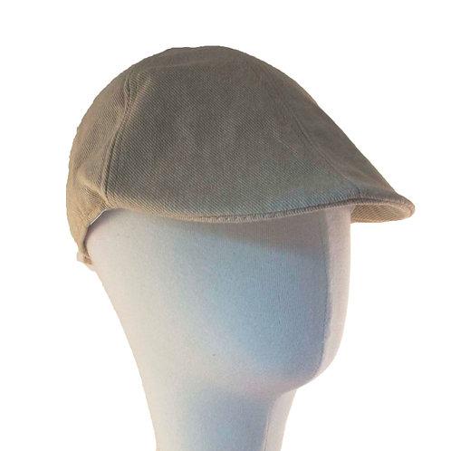 BEIGE NEWSBOY HAT