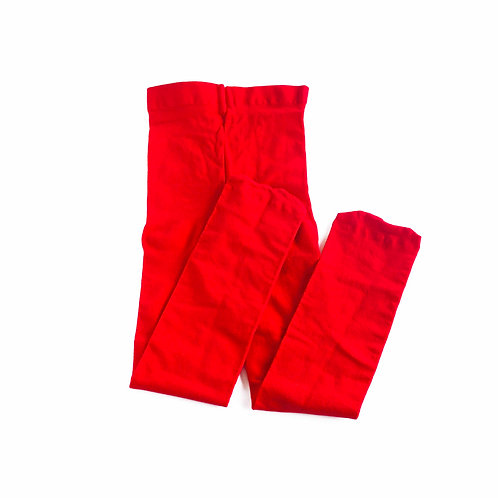 RED FOOTED KIDS TIGHTS