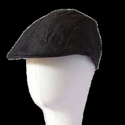 CHARCOAL NEWSBOY HAT