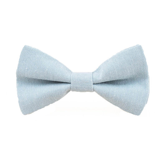 WASHED DENIM BOW TIE