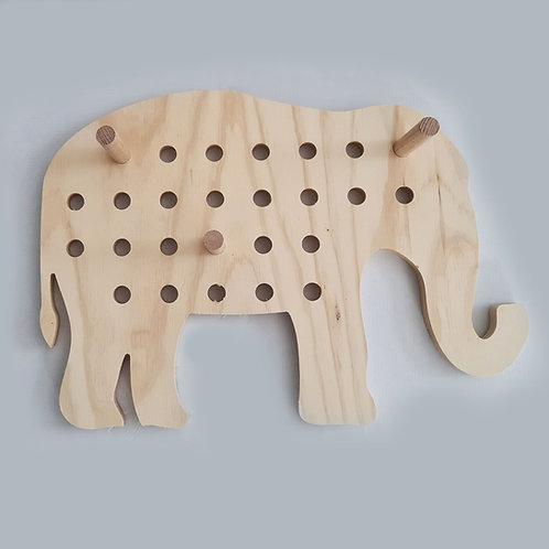 ELEPHANT PEG BOARD