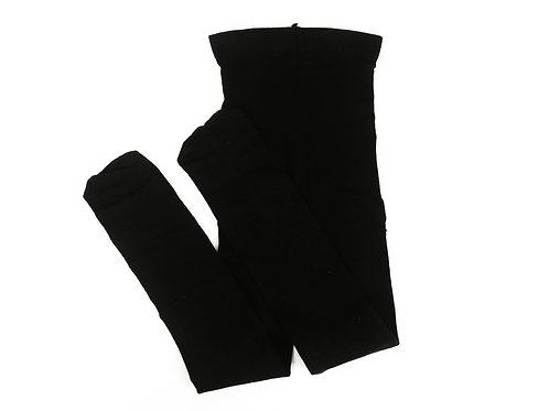 BLACK FOOTED KIDS TIGHTS