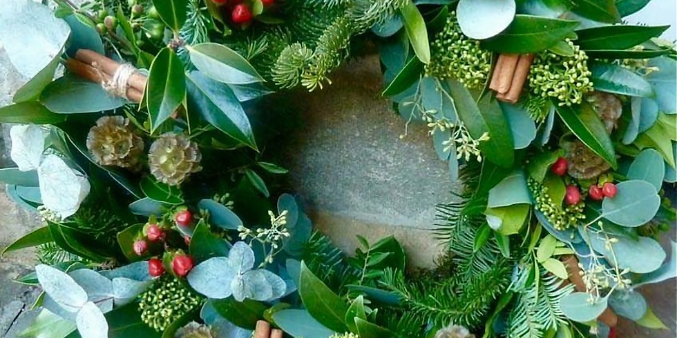 Christmas Wreath Workshop - SOLD OUT