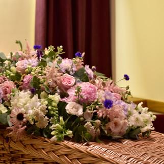 Summer Funeral Florals