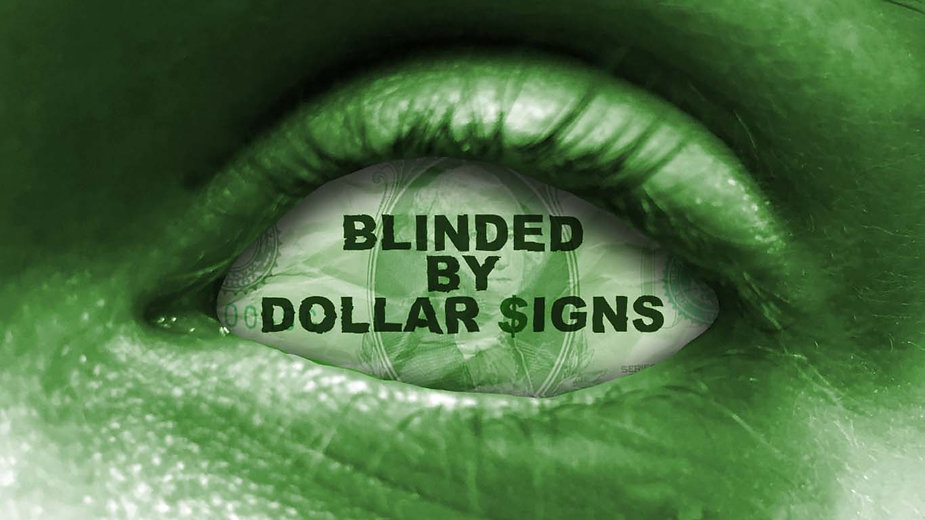 Blinded by Dollar Signs Campaign Hero Im