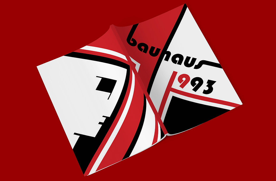Bauhaus 93 Zine Front and Back Cover Moc