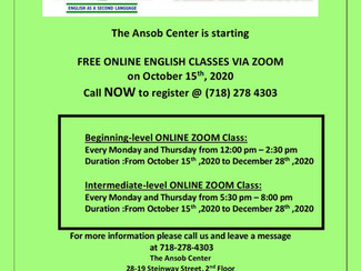 Free Online Zoom English Classes