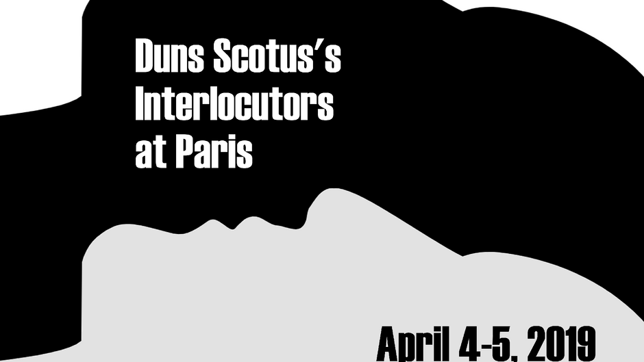 Duns Scotus's Interlocutors at Paris
