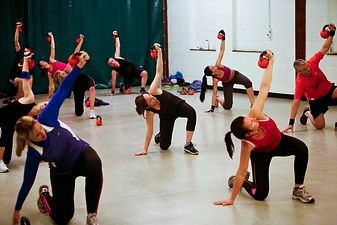Kettlercise fitness classes in Norwich