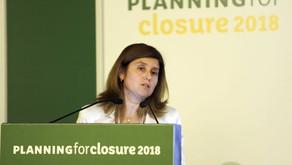 DIRECTORA DE RIM-CHILE PRESENTA EN PLANNING FOR CLOSURE 2018