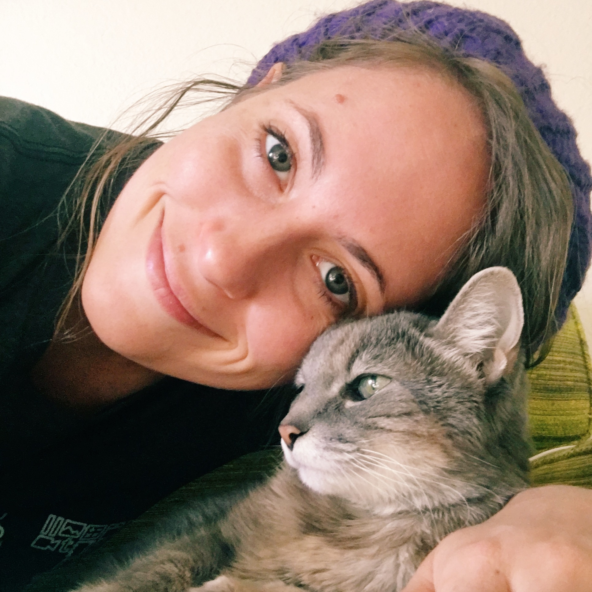 Elyse Hughes Cat Mama