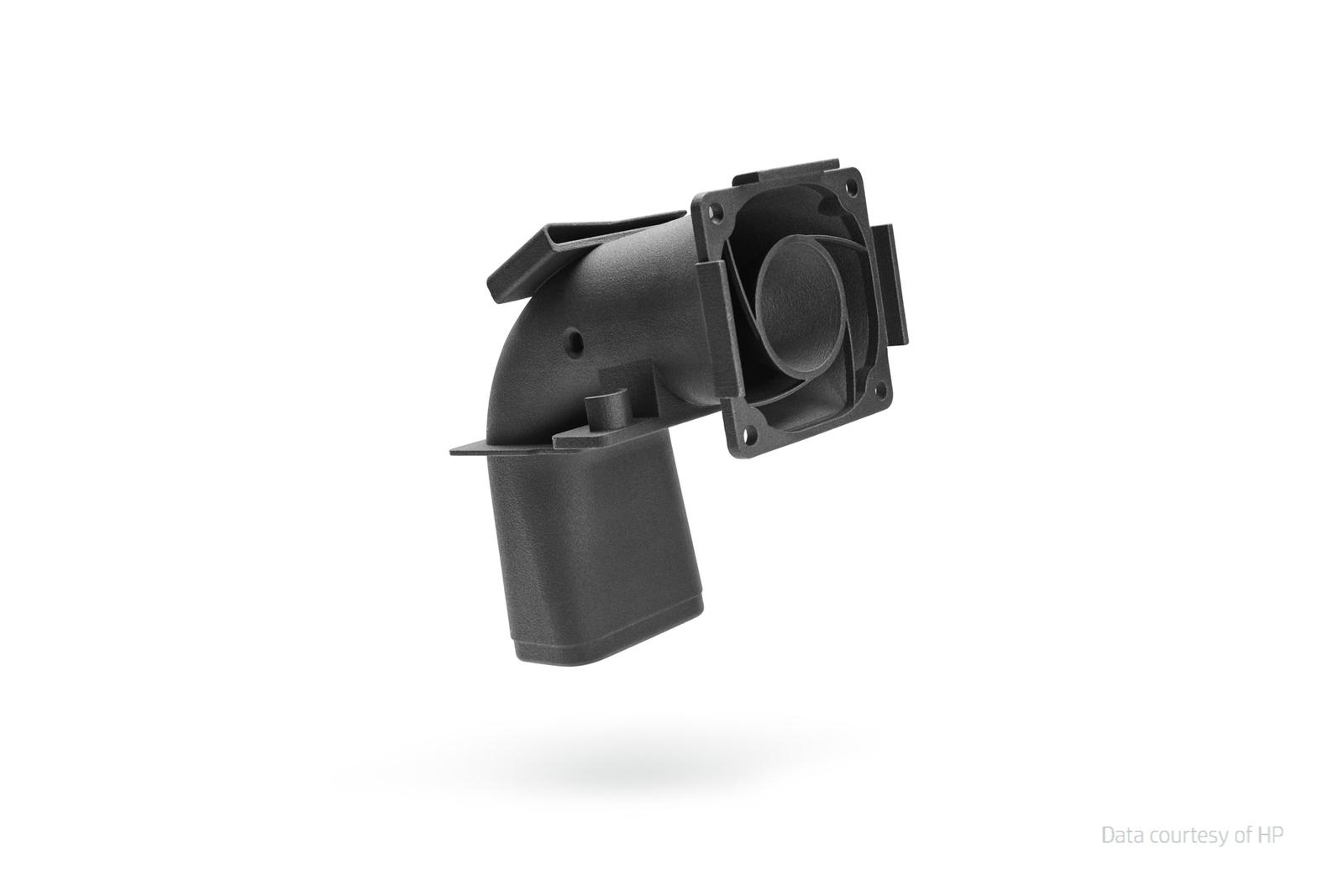 3D tulostettu ilmakanava | HP JF 4200 3D Printer