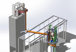 3D mallinnus viljanpuhdistimen uusiminen