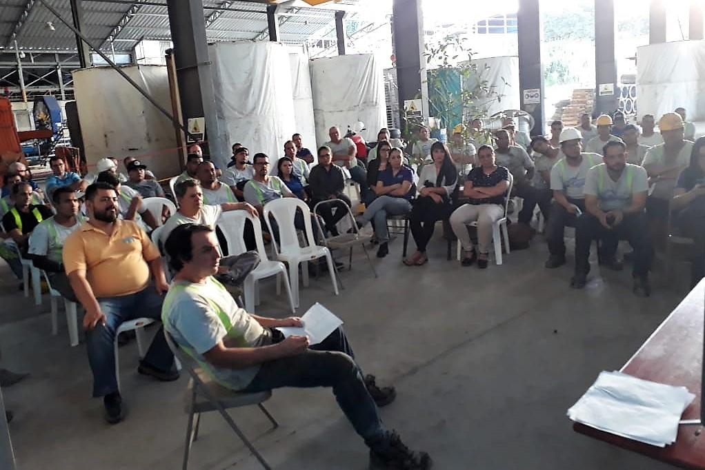 Charla Salud Ocupacional.