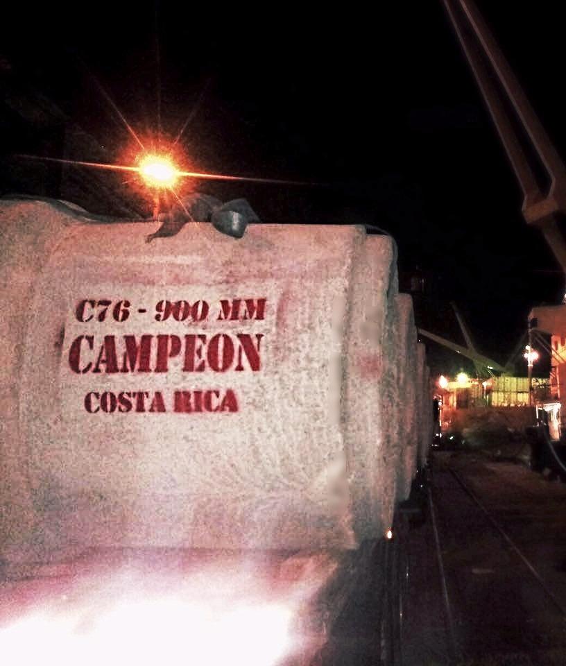 Entrega de tubería en Colombia