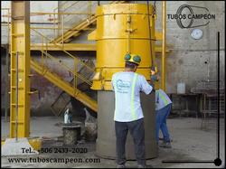 Tubos de cemento reforzado