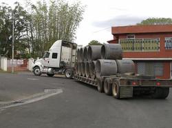 Transporte de tubería
