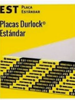 Placa de yeso Durlock 12.5mm 1,2 x 2,4