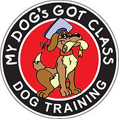 My Dog's Got Class Logo - NJ Dog Training School