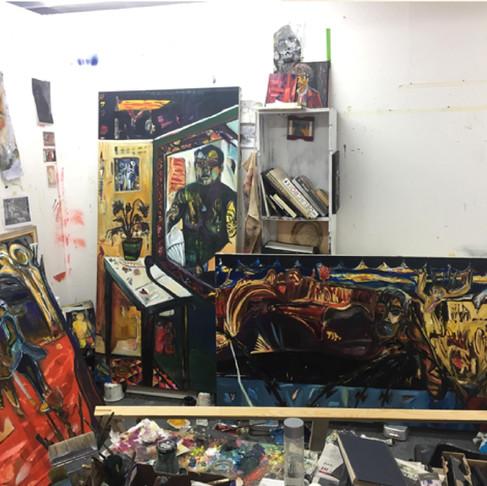 Studio Visit: Jamie Oldham