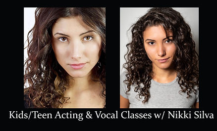 Kids acting and Vocal classes with Nikki