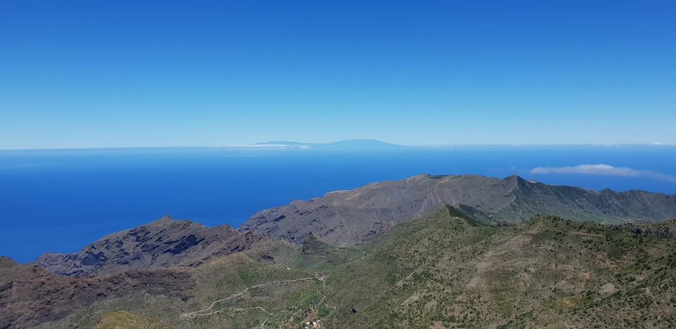 La Palma í fjarska