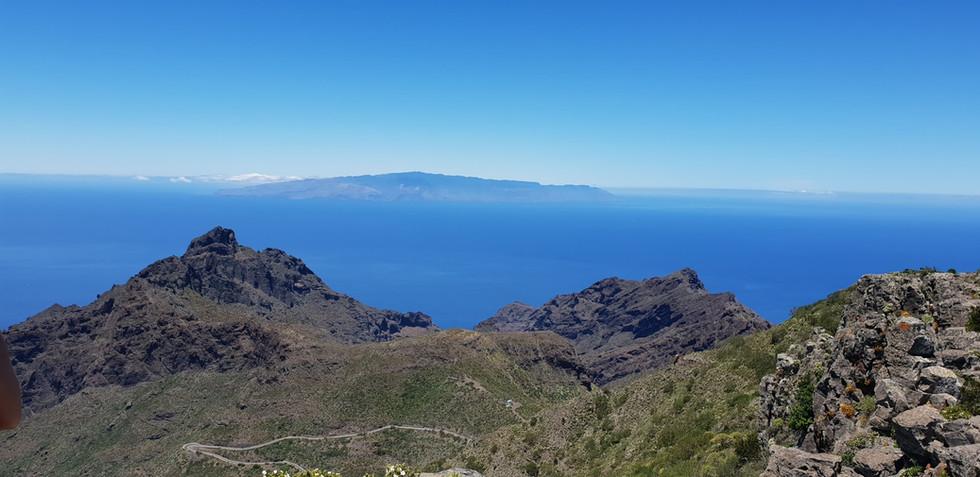 La Gomera í fjarska