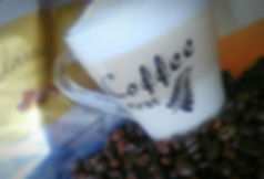 Cappuccino im Restaurant des Abigél Altenheims