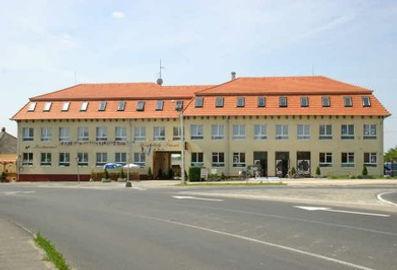Das Gebäude des Abigél Altenheims