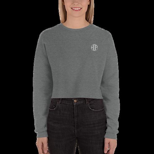 HOP Grey Heather Crop Sweatshirt