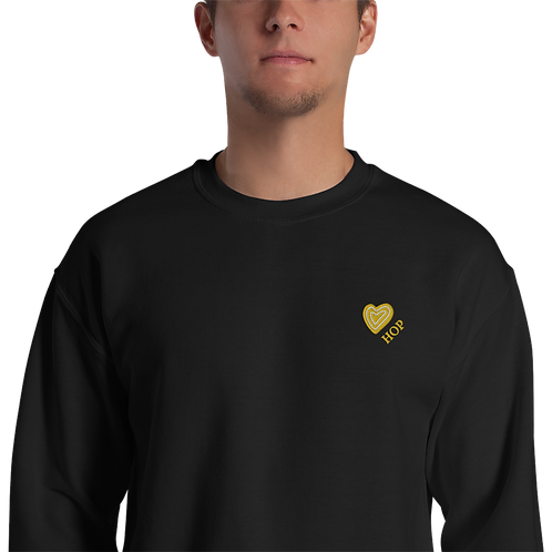 Yellow Love HOP Unisex Sweatshirt
