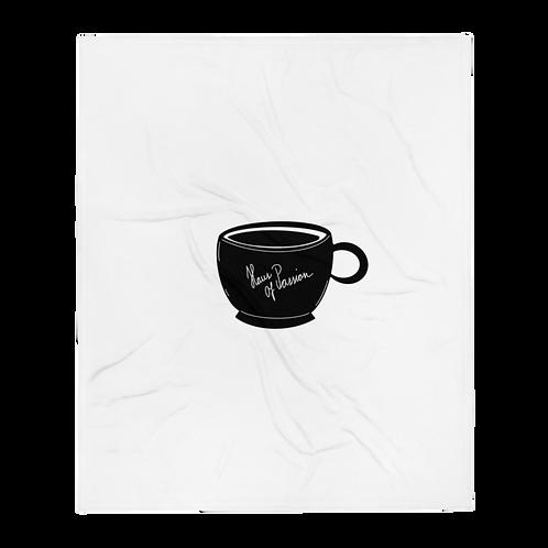 HOP Coffe Mug Throw Blanket