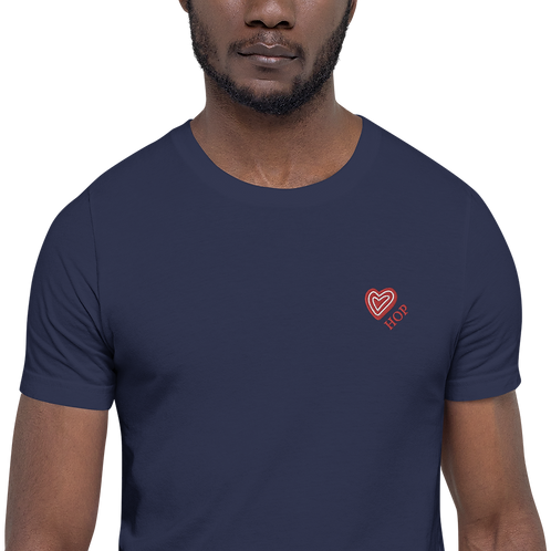 Red Love HOP HAUS OF PASSION Unisex T-Shirt