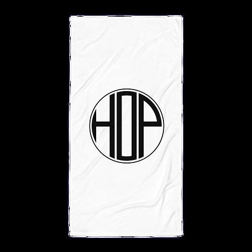 HAUS OF PASSION Big Logo White Towel
