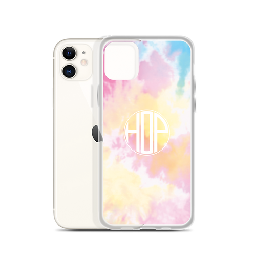 Color Pop Tie Dye iPhone Case