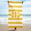 Thumbnail: Yellow/White Striped Towel