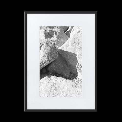 Rocky Matte Paper Framed Poster