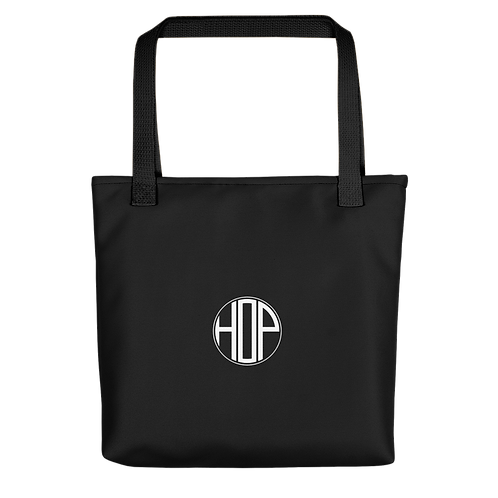 HOP Black Tote Bag