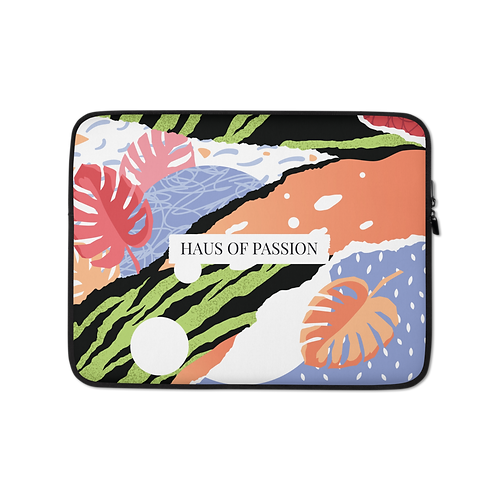 Colorful Art Laptop Sleeve
