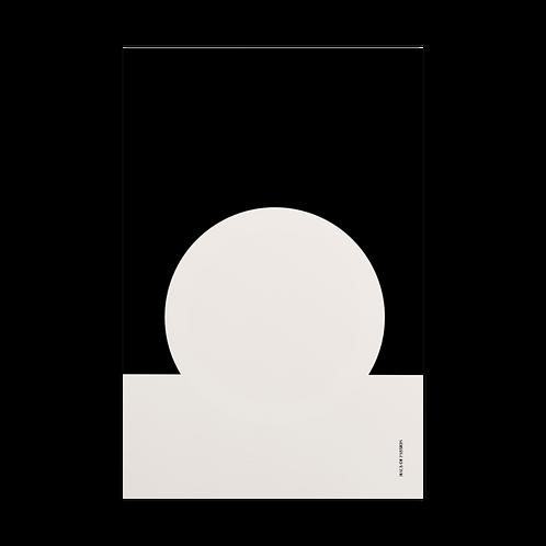 White meets Black Postcard