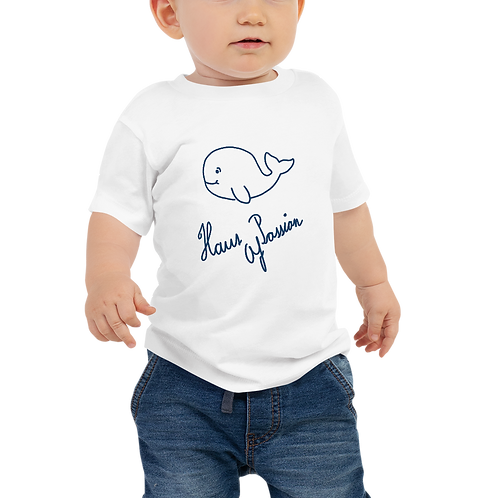 Big Whale Baby Jersey Short Sleeve Tee