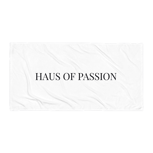 HAUS OF PASSION Classic Towel White