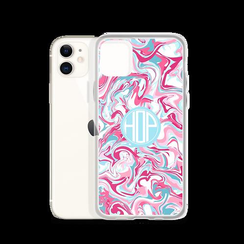 Color Pop Liquid Pink iPhone Case