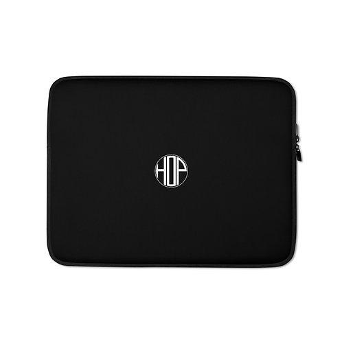 HOP Black Laptop Sleeve