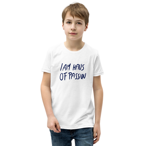 I AM HAUS OF PASSION Youth Short Sleeve T-Shirt