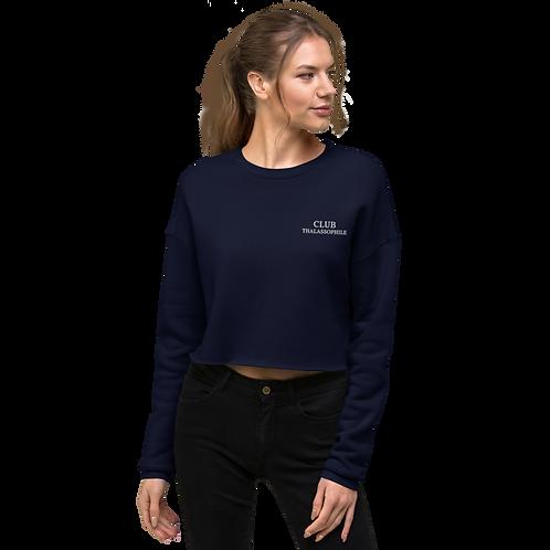 Club Thalassophile Crop Sweatshirt
