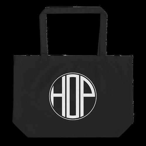 HOP Black Organic Tote Bag