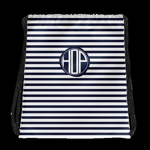 Club Thalassophile Drawstring Bag Navy/White