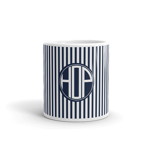 Club Thalassophile Mug Navy/White